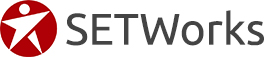 The SETWorks logo